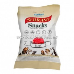 Serrano snacks buey.
