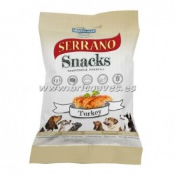 Serrano snacks pavo.