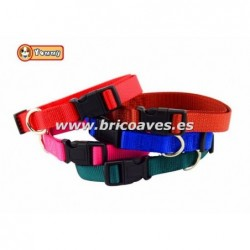 Collar de nylon extensible