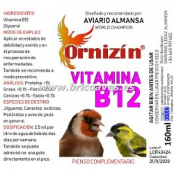 VITAMINA B12 ORNIZIN 160ML